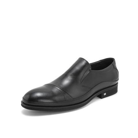 Belle/百麗商務正裝鞋2019年春新商場同款牛皮革男皮鞋5XY02AM9