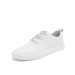 Belle/百丽板鞋2019春新款商场同款牛皮革男休闲鞋5YD01AM9