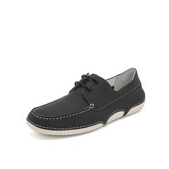 Belle/百丽休闲鞋2019春新款商场同款牛皮革男皮鞋5XT01AM9