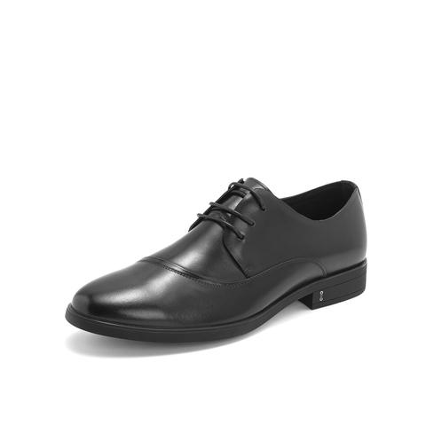 Belle/百麗商務正裝鞋2019春季專柜同款牛皮革男皮鞋5YB01AM9