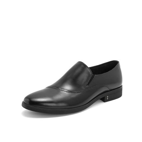 Belle/百麗商務正裝鞋2019春新商場同款牛皮革男皮鞋5YB02AM9