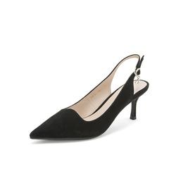 Belle/百丽2019年春季新商场同款羊绒皮革女凉鞋T4L1DAH9