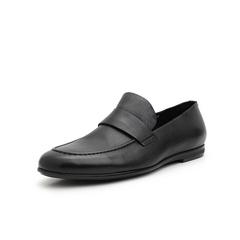 Belle/百丽乐福鞋2019春季新牛皮革男商务皮鞋12515AM9