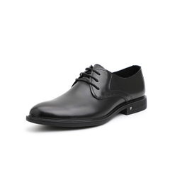 Belle/百麗婚鞋2019年春新商務正裝德比鞋牛皮革男皮鞋15058AM9
