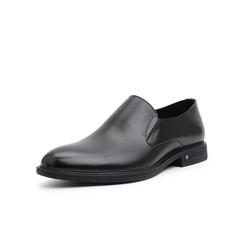 Belle/百丽婚鞋2019年春新商务正?#33453;?#30382;革男德比鞋皮鞋15057AM9