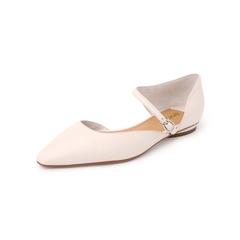 Belle/百丽2019?#30007;?#32501;羊皮革女皮凉鞋BH636BK9