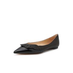 Belle/百丽平底鞋2019年春季新款羊皮革女单鞋20261AQ9