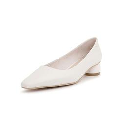 Belle/百丽凉鞋2019年春季新款羊皮革简约中跟女鞋19162AK9