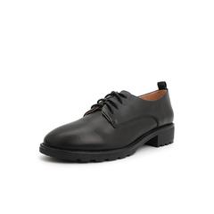 Belle/百丽单鞋2019年春季新商场同款牛皮革女休闲皮鞋T7C1DAM9