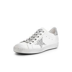 Belle/百丽小白鞋2019春季新款牛皮革/格力特女休闲鞋70941AM9