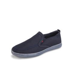 Belle/百丽布鞋2019?#30007;?#21830;场同款纺织品男休闲鞋5ZL01BM9