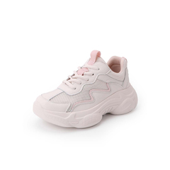 Belle/百丽运动风2019春新商场同款网布女休闲松糕旅游鞋T7N1DAM9
