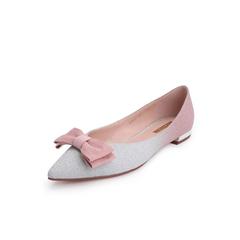 Belle/百丽平底单鞋2019春新商场同款渐变亮片布女鞋BSW07AQ9