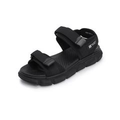 Belle/百丽沙滩鞋2019夏季新款魔术贴纺织品休闲男凉鞋12502BL9