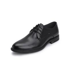 Belle/百麗商務正裝婚鞋2019春季新款牛皮革男皮鞋81272AM9