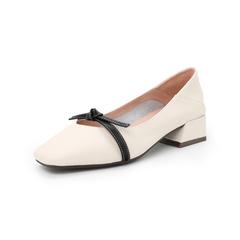 Belle/百麗2019秋新商場同款牛皮革女皮鞋U3B1DCQ9