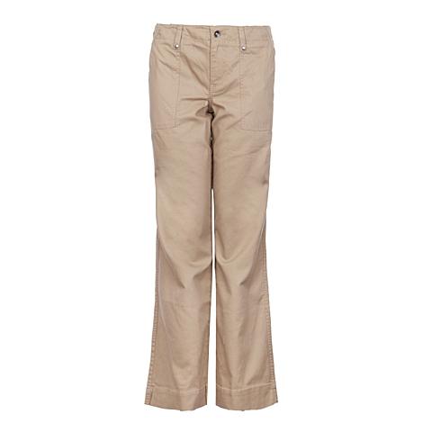 CAT/卡特 专柜同款 女装卡其色梭织长裤Y2811031-7239C