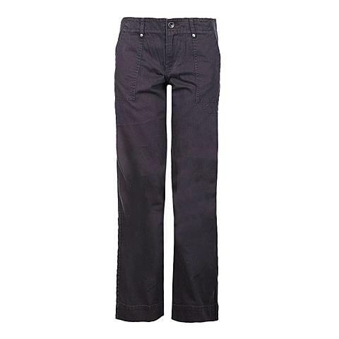 CAT/卡特 专柜同款 女装深灰色梭织长裤Y2811031-2839C