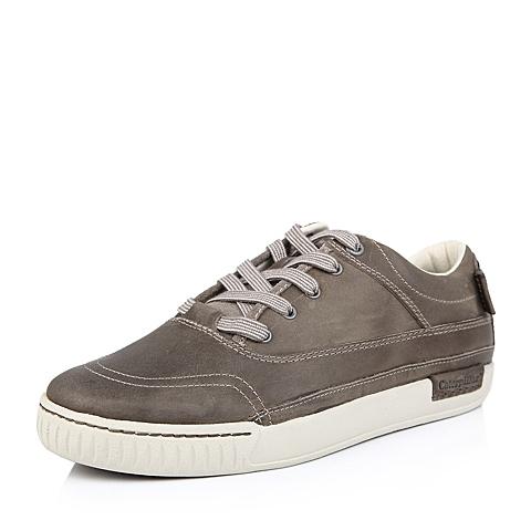 CAT/卡特冬传奇复古系列亮灰色头层牛皮男户外休闲鞋P713655D3BMC02  耐磨防滑 潮流密码(CODE)