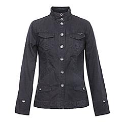 CAT/卡特 专柜同款 女装黑色梭织长袖外套Y2313016-0169C