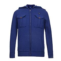 CAT/卡特 专柜同款 男装紫蓝针织开衫CA3MWLSC025D72