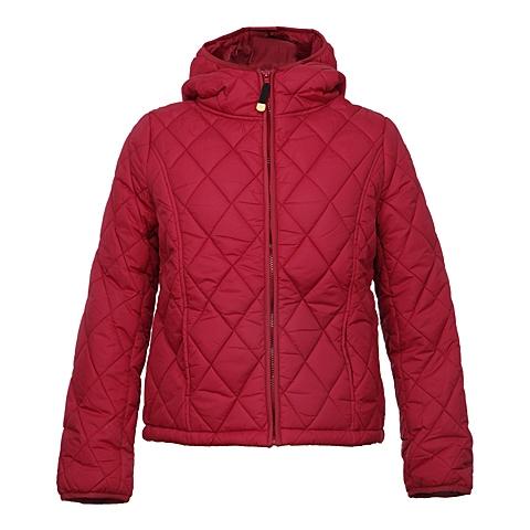 CAT/卡特 专柜同款 女装西瓜红棉服外套CA3WODJK127F23