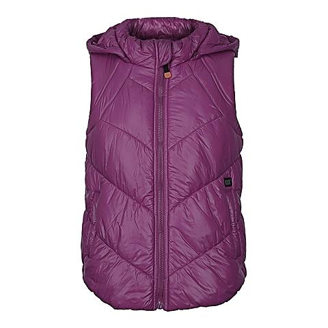 CAT/卡特 专柜同款 女装紫色棉服马甲CA3WOPVT302F23