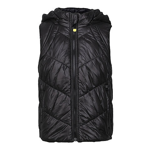 CAT/卡特 专柜同款 女装黑色棉服马甲CA3WOPVT302F01