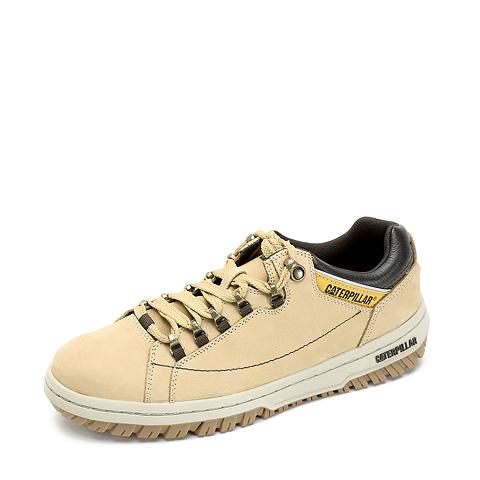 CAT/卡特春夏黄色牛皮/合成革/织物男装户外休闲鞋活跃装备(Active)P711588B4C