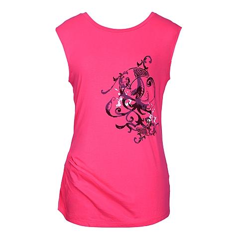 CAT/卡特 专柜同款 女装桃红色无袖背心CB1WTNST507F28