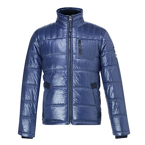 CAT/卡特 专柜同款 男装军蓝色棉服CB3MOPJK308B73