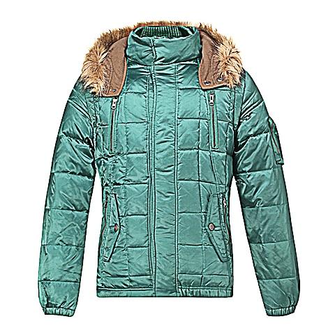 CAT/卡特 专柜同款 男装绿色羽绒服CB3MODJK321C51