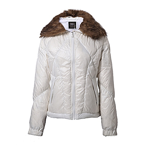CAT/卡特 专柜同款 女装漂白色羽绒服CB3WODJK616F10