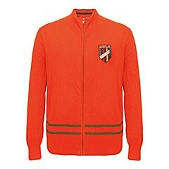 CAT/卡特 专柜同款 男装橙色针织长袖开衫CB1MWLSC725C31