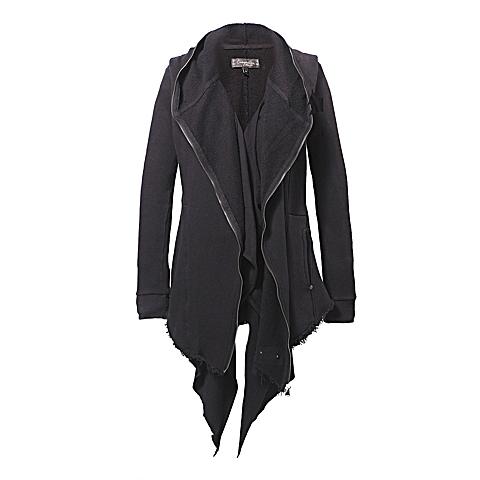 CAT/卡特 专柜同款 女装深黑卫衣CB3WKHOZ658F00