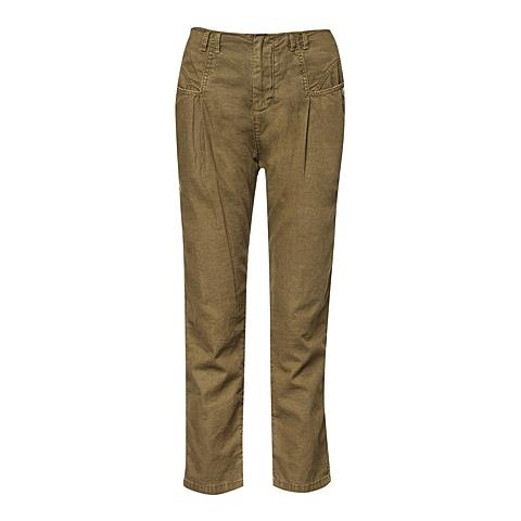 CAT/卡特 专柜同款 女装浅草色休闲裤CB1WRPNT615F57
