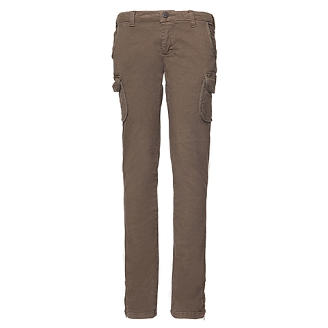 CAT/卡特 专柜同款 女装橄榄绿色休闲裤CB3WRPNT754G54