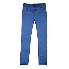 CAT/卡特 专柜同款 女装牛仔蓝色休闲裤CB3WRPNT755F76