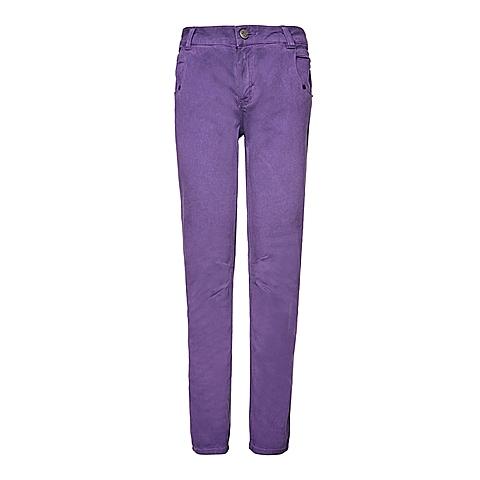 CAT/卡特 专柜同款 女装紫色休闲裤CB3WRPNT755F81
