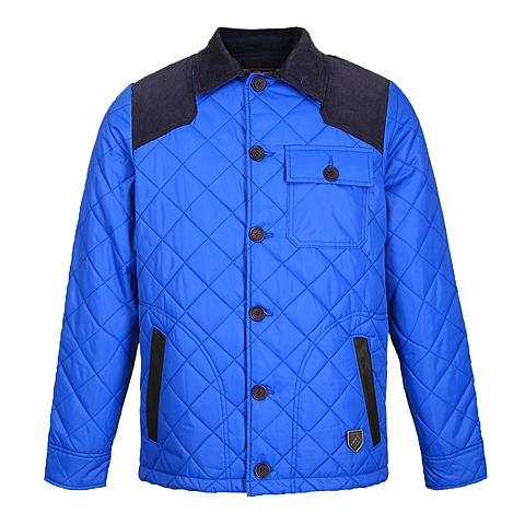 CAT/卡特 专柜同款 男装中蓝色棉服CB3MOPJK310C75