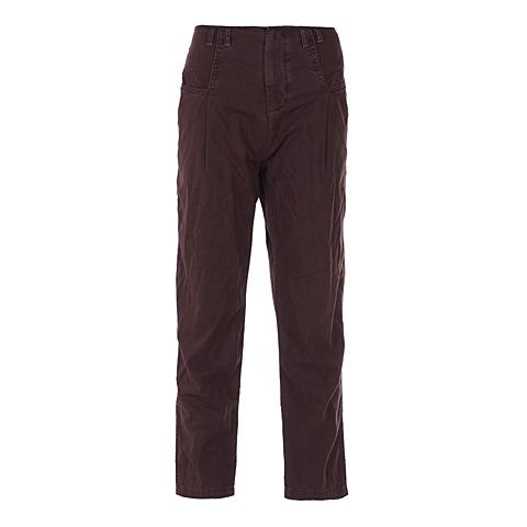 CAT/卡特 专柜同款 女装巧克力色休闲裤CB1WRPNT615F46