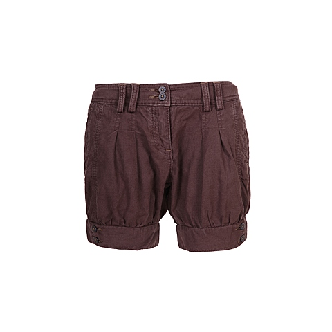 CAT/卡特 专柜同款 女装巧克力色短裤CB1WRSHT622F46