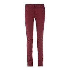 CAT/卡特 专柜同款 女装暗红色休闲裤CB3WRPNT755F29