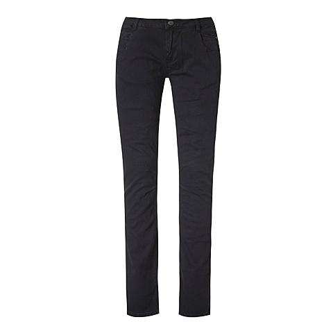 CAT/卡特 专柜同款 女装深黑色休闲裤CB3WRPNT755F00