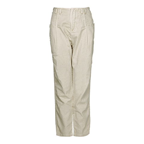 CAT/卡特 专柜同款 女装杏色休闲裤CB1WRPNT615F17