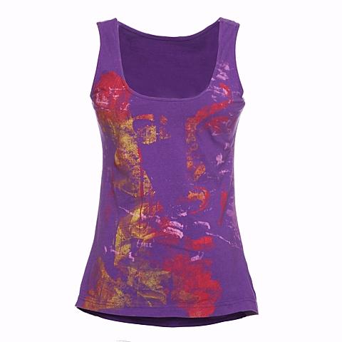 CAT/卡特 专柜同款 女装粉紫色无袖背心CB1WTNST505F83