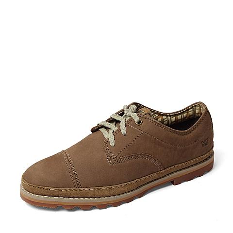 CAT/卡特秋季专柜同款棕色牛皮革男休闲鞋9440ER36 专柜1
