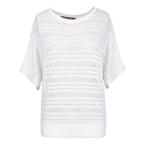 CAT/卡特 专柜同款 女装灰白毛衣CC1WWSSO682F15