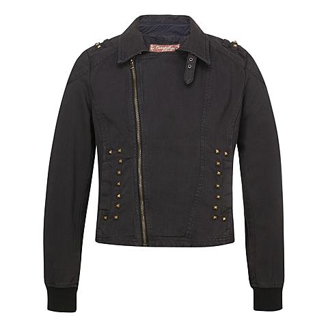 CAT/卡特 专柜同款 女装黑色基本外套CC1WOBJK708G01