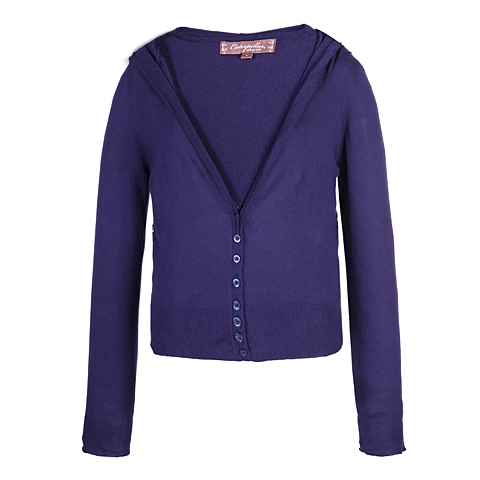 CAT/卡特 专柜同款 女装紫蓝毛衣CC1WWLSC684G72